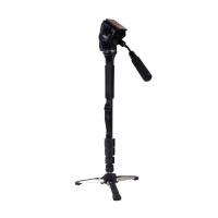 YUNTENG VCT-288 288 Monopod + Fluid Pan Head + Unipod Holder For Digital SLR Cameras DV