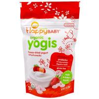 Happybaby 酸奶和水果點心,草莓,1盎司(28克)