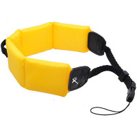 FOCUS Floating Strap for ALL DSLR Cameras - YELLOW
