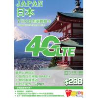Happy Telecom 日本4G 7日無限數據卡