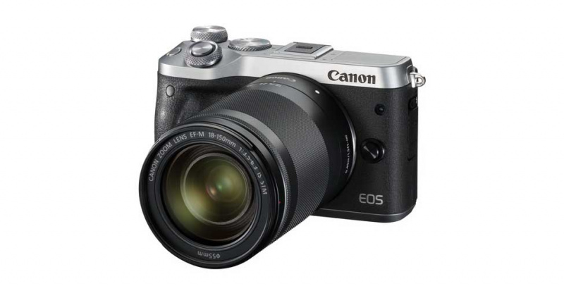 Canon EOS M6 with EF-M 18-150mm