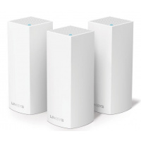 Linksys Velop Intelligent Mesh WiFi System, Tri-Band, 3-Pack White (AC6600) - WHW0303