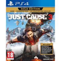 Square Enix PS4 Just Cause 3 Gold Edition 正當防衛 3 年度版