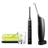 Philips 飛利浦 DiamondClean HX9351 + AirFloss Ultra HX8461 Black Edition