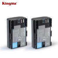 KINGMA LP-E6+ 2100mAh Li-ion Battery 鋰電池x 2