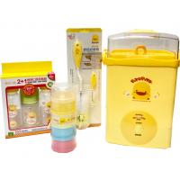 PIYO PIYO 黃色小鴨 奶瓶消毒鍋套裝