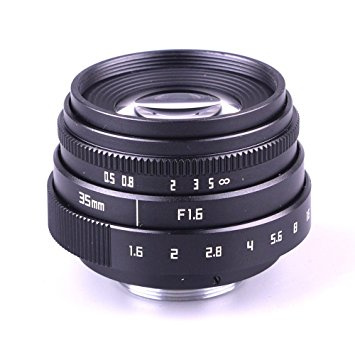 FUJIAN 35mm f1.6 C mount CCTV Lens II for M43 ADAPTOR