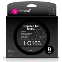 Natural Brother LC163 Black 黑色代用墨盒