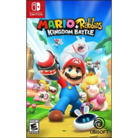 Ubisoft Mario + Rabbids Kingdom Battle《瑪利歐 + 瘋狂兔子 王國之戰》中英文合版