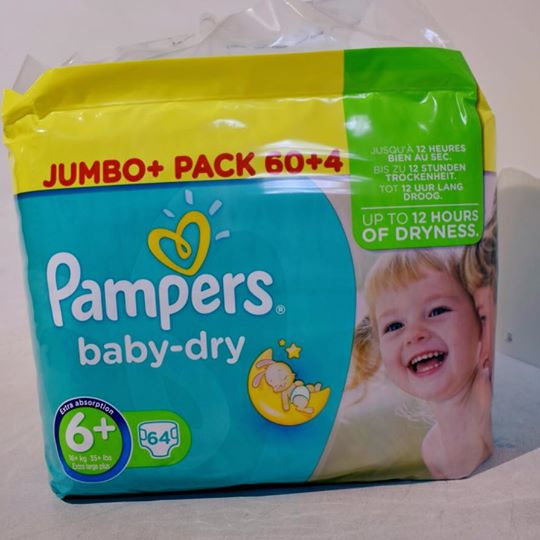 Pampers baby-dry XXL64