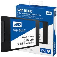 """Western Digital 2.5"""" WD Blue 3D NAND SATA SSD 250GB (WDS250G2B0A)"""