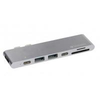 Verbatim Thunderbolt 3 USB Type-C MacBook Pro Hub Adapter