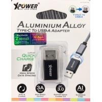 Xpower Aluminium Alloy Type-C to USB-A Adapter