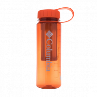 Columbia Logo Water Bottle 450ML with Tea Filter