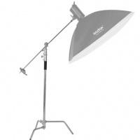 FOCUS C Stand 不鏽鋼吊臂燈架 (330cm)