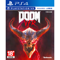 Bethesda PS4 毀滅戰士 DOOM VFR 中英文合版
