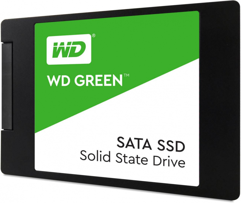 "Western Digital 2.5"" WD Green PC SSD 240GB - WDS240G2G0A"