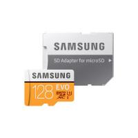 Samsung U3 MicroSDXC EVO Memory Card 128GB with Adapter