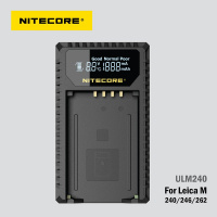Nitecore ULM240 USB charger for Leica BP-SCL2 battery