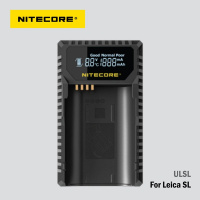 Nitecore ULSL USB charger for Leica BP-SCL4 battery
