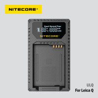 Nitecore ULQ USB charger for Leica BP-DC12 battery