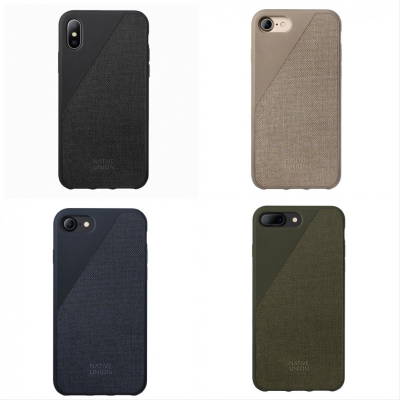 8d1071b2ca Native Union CLIC CANVAS Protective Fabric Case for iPhone X 價錢 ...
