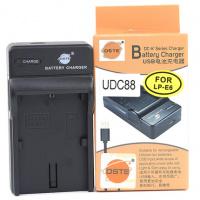 DSTE LP-E6 / LP-E6N BATTERY USB CHARGER (FOR CANON)