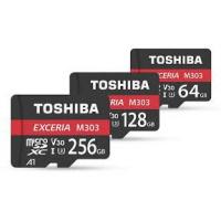 TOSHIBA Exceria M303 MicroSDXC V30 4K 128GB [R:90 W:65]