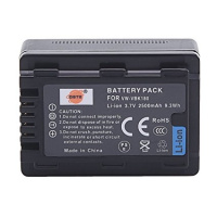 DSTE VW-VBK180 Replacement Li-ion Battery for Panasonic SDR-H100 H101 HC