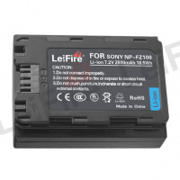 LEIFIRE NP-FZ100 BATTERY (FOR SONY)