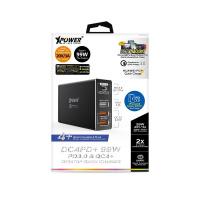 XPower 99W DC4PD+ 4 Port Desktop PD & QC4+ Quick Charger w/QC4.0