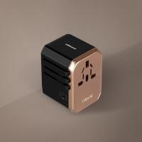 MOMAX 1-World USB AC Travel Adapter (Type-C + 4 USB-A) (UA5)