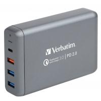 Verbatim 4 Ports PD+QC 75W 多功能充電器