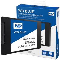 """Western Digital 2.5"""" WD Blue 3D NAND SATA SSD 500GB (WDS500G2B0A)"""
