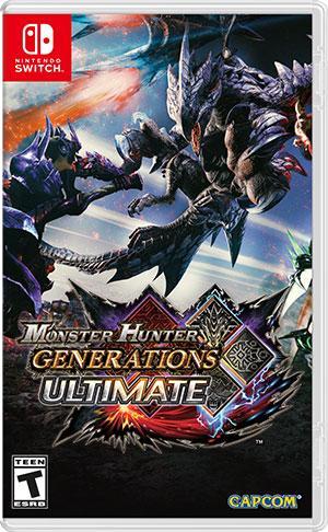 capcom monster hunter generations ultimate 中 英文 合 版