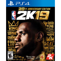 2K Games PS4 NBA 2K19 20th Anniversary Edition 中英文版