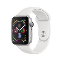 Apple Watch Series 4 (GPS) - 44毫米銀色鋁金屬錶殼配白色運動錶帶