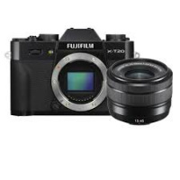 Fujifilm X-T20 with XC 15-45mm Lens Kit