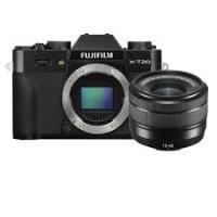Fujifilm X-T20 with XC 15-45mm Lens Kit
