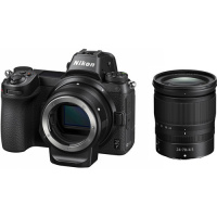 Nikon Z7 + NIKKOR Z 24-70mm f/4 S + FTZ Adapter Kit