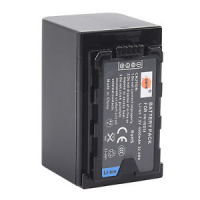 Dste VW-VBD58 4500mAh Battery and Charger for Panasonic AJ-PX298 HC-MDH2GK
