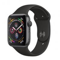 Apple Watch Series 4 (GPS) - 44毫米太空灰鋁金屬錶殼配黑色運動錶帶