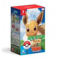 Nintendo Pokemon: Let's Go, Eevee! + Poke Ball Plus Pack 中英文版