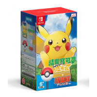 Nintendo Pokemon: Let's Go, Pikachu! + Poke Ball Plus 中英文版