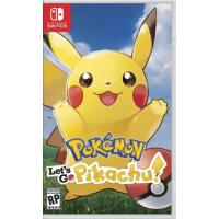 Nintendo Pokemon: Let's Go, Pikachu! 中英文版