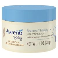 Aveeno Baby Eczema Therapy Nighttime Balm 1oz (28g)