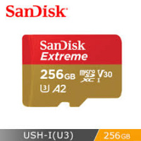 SanDisk Extreme A2 256GB MicroSDXC [R:160 W:90]