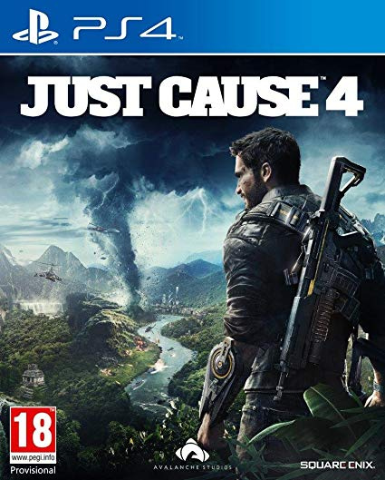 Square Enix PS4 Just Cause 4 中英文版