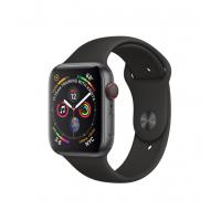 Apple Watch Series 4 GPS + 流動網絡,44 毫米太空灰鋁金屬錶殼配黑色運動錶帶