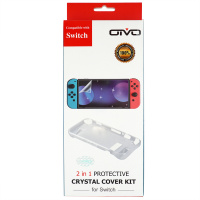 OIVO 2in1 Protective Crystal Cover Kit for Switch